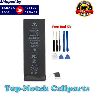 iPhone 5c Battery and Free Tools 1510 mAh 616-0667 616-0669 616-0762 661-8300