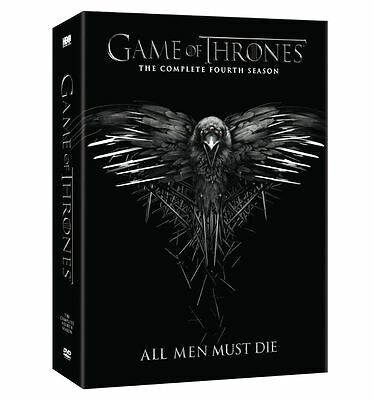 New Game Of Thrones: Season 4  DVD region 1 US CANADA 1 day shipping