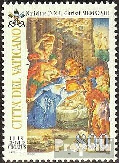 Vatican 1262 (complete issue) unmounted mint / never hinged 1998 christmas