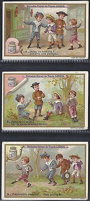 Liebig-*s0532*-Full Set Of 6 Cards- Belgium - Tobacco Or Sweets?
