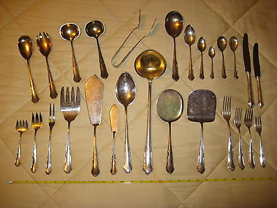 Vintage Estate Found German Rostfrei 800 Coin Silver Silverware Spoons Forks