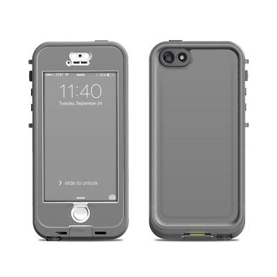 Skin for LifeProof Nuud iPhone 5S - Solid Grey - Sticker Decal