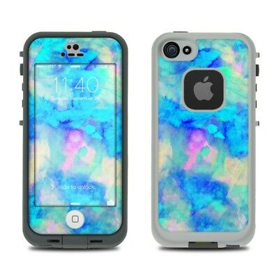 Skin Kit for LifeProof FRE iPhone 5S - Electrify Ice Blue - Sticker Decal