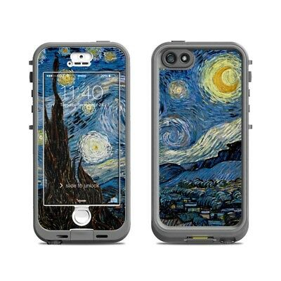 Skin for LifeProof Nuud iPhone 5S - Starry Night - Sticker Decal