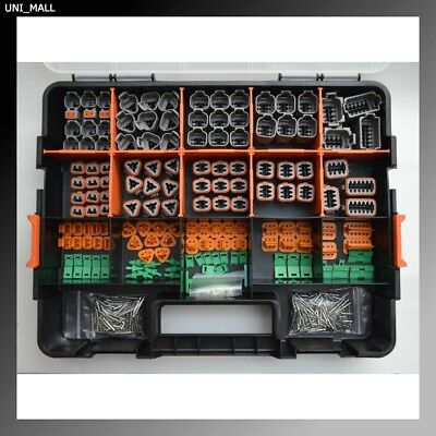 518 PCS DEUTSCH DT Genuine Connector Kit Solid Contacts+Removal Tools, From USA