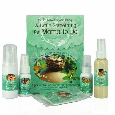 Earth Mama Angel Baby A Little Something for Mama-to-Be Pregnancy Gift Set USA