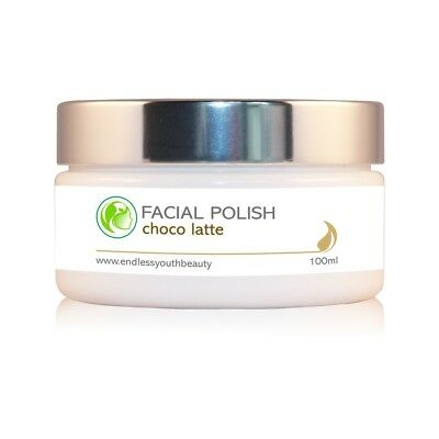 Purifying Facial Polish Exfoliating Scrub Chocolate-Cappuccino 100 ml
