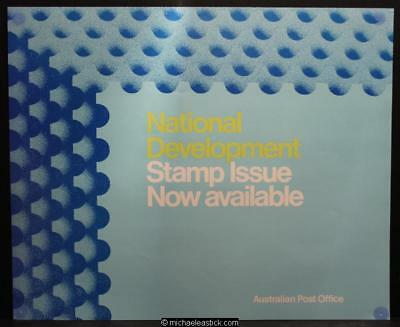 Australia Post display sheet - National Development 1973