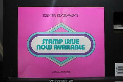 Australia Post display sheet - Scientific Developments 1975