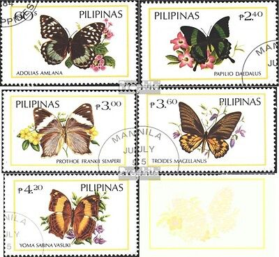Philippines 1588-1593 (complete.issue) used 1984 Butterflies