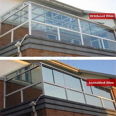 Home Window Film Stickers Glass Privacy Tint Silver Tinting Sticky Paper