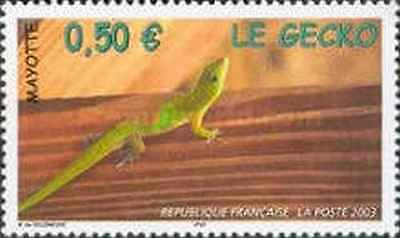 Timbre Reptiles Mayotte 144 ** année 2003 lot 14183