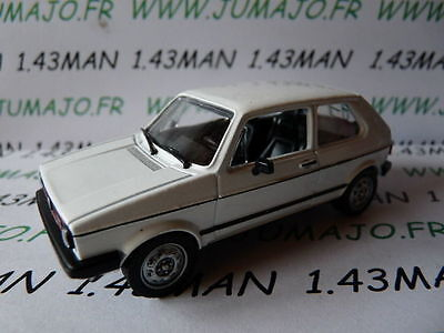 Voiture 1/43 solido (Made in France) VOLKSWAGEN golf 1 gti blanche