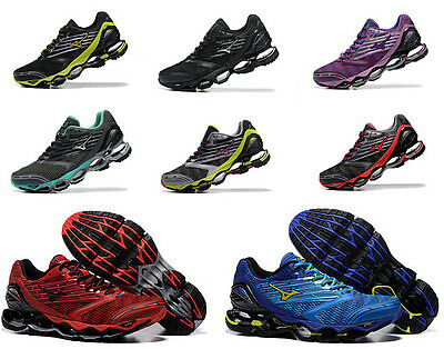 5 Style Mizuno Wave Prophecy 5 V Mens Running Shoes Trainers Sneakers Runner