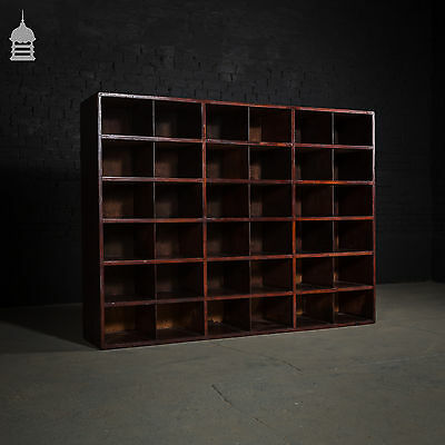 Large 19th C Mahogany Display Unit
