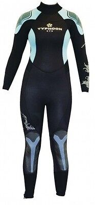 Typhoon Coral  7/5/4Mm Semi Dry Suit - Ladies Size All Sizes -Rrp £199