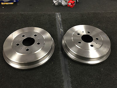 Ford Focus Mk2 Tdci 2005 On Rear Brake Drums Pair