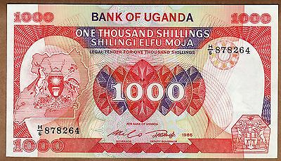 Uganda - 1000 Shillings - 1986 - P26 - Uncirculated