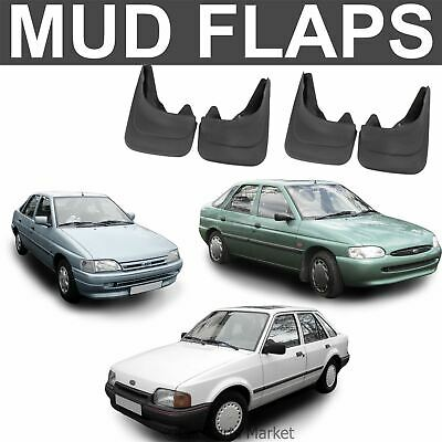 Mud Flaps Splash guard for Ford Escort mudguard set of 4x front and rear