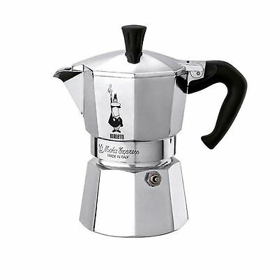 Bialetti Moka Express Italian Stove-Top Espresso Coffee Maker - Choice of Sizes