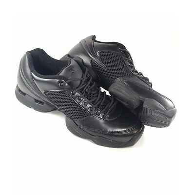 Motionwear Dance Black Size 7 Model 340 Split Sole Shoes Sneakers Womens NEW