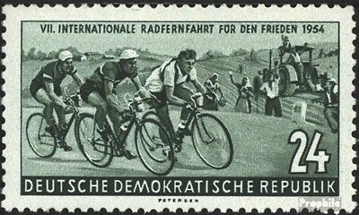 DDR 427 unmounted mint / never hinged 1954 International Radfernfahrt for the