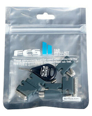 New Fcs Surf Ii Tab Infill Kit Rubber Surfing Accessories Natural