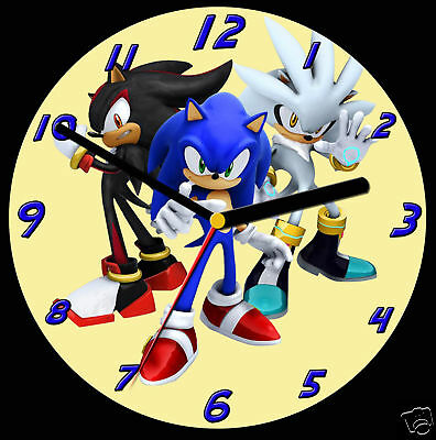Sonic the Hedgehog 2 CD Clock, can be personalised