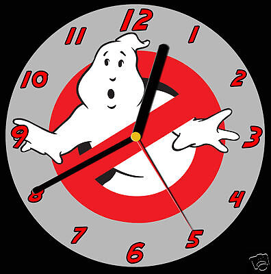 Ghost Busters CD Clock, can be personalised