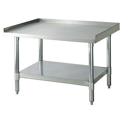 Turbo Air TSE-3012, 12 x 301/4 x 24-inch Equipment Stand, Stainless Steel