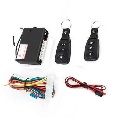Universal Car Door Entry System Locking Remote Control Central Keyless Lock Kit