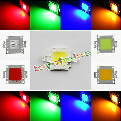 10W 20W 30W 50W 70W 80W 100W High Power Spot LED COB Bombilla luz SMD Chip Bead