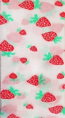 Sweety Patterned White Chilrdren's Tights Strawberries 20 Denier by Lady Kama
