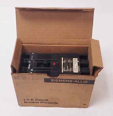 New Siemens E63B050 3-Pole Molded Case Circuit Breaker, 50Amp 600Vac