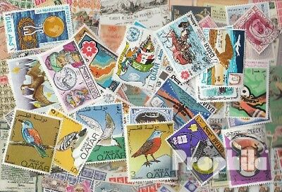 Qatar 50 different stamps