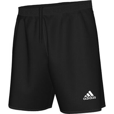 Adidas Parma 16 Football Shorts Black Kids Ages 7 To 14 Years Bnwt