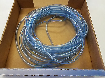 "True Blue FUEL LINE 1/8"" ID x 3/16"" OD Translucent Ethanol OK ORDER BY THE FOOT"