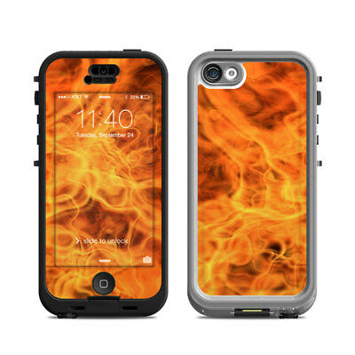 Skin Kit for Lifeproof iPhone 5c NUUD ~ COMBUSTION ~ Decal Sticker