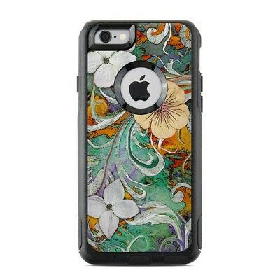 Skin for Otterbox Commuter iPhone 6/6S - Sangria Flora - Sticker Decal