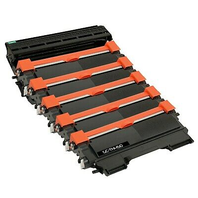 5x TN450 & 1x DR420 Compatible Toner Cartridge & Drum set for Brother MFC-7360N