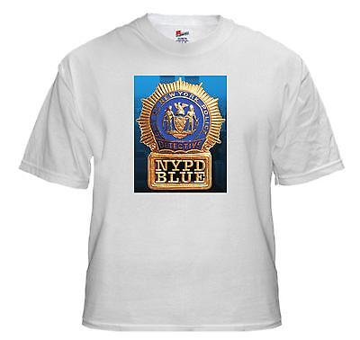 Tee Shirt New Adult Cotton Unisex hit TV series NYPD BLUE quality cotton t shirt