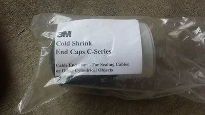3M Cold Shrink End Caps C-Series Lot Of 9   1C