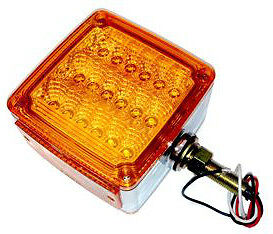 Amber/Red Turn signal light, Indicator. May suit Kenworth,Freightliner Truck