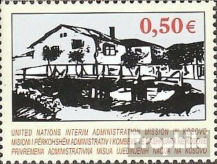 kosovo (UN-Administration) 27 mint never hinged mnh 2004 Art