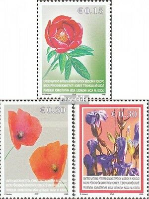 kosovo (UN-Administration) 28-30 fine used / cancelled 2005 Locals Flora
