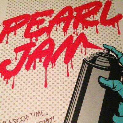 Pearl Jam - 2013 D*Face Dface poster print Seattle, WA 1st edition, show