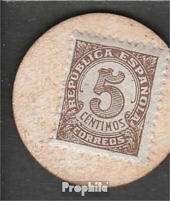 Spain Pick-number: 96 used (III) 1938 5 Centimos
