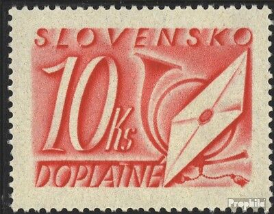 Slovakia P38 mint never hinged mnh 1942 Letters and Horn