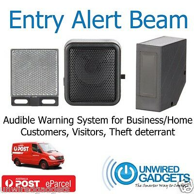 Doorway Entry Alert Beam For Shops, Small Business, Restaurants, Pets, Intruders