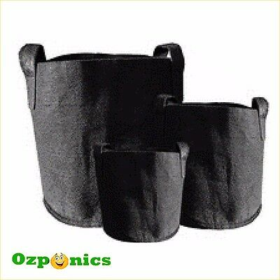 Hydroponics Growing Pots Smart Fabric Grow Bags Plant Container Pouch